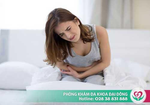 Khi uống thuốc phá thai sẽ bị đau bụng ra ra máu âm đạo