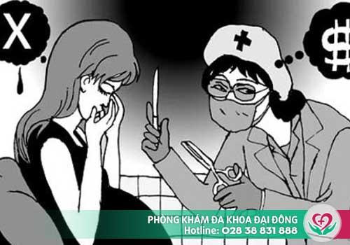Phá thai tại các cơ sở y tế không đảm bảo chất lượng dễ dẫn đến biến chứng nguy hiểm