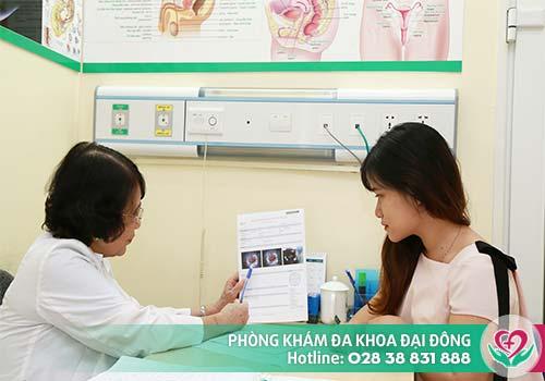 Chị em cần được bác sĩ tư vấn để đình chỉ thai đảm bảo an toàn