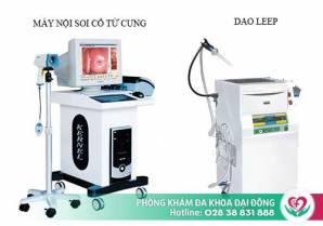 Điều trị viêm lộ tuyến cổ tử cung tại Đa Khoa Đại Đông