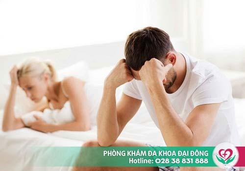 Xuất tinh ra máu khi quan hệ có thể gây biến chứng nguy hiểm