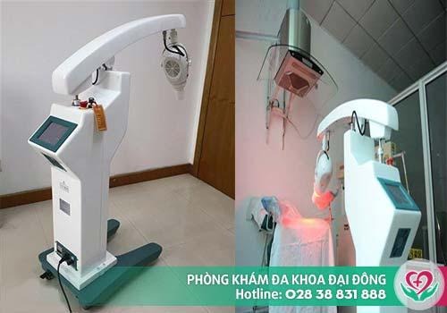 Máy ALA-PDT: Hỗ trợ điều trị sùi mào gà hiệu quả tại Đa Khoa Đại Đông