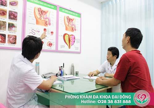 Cần đến gặp bác sĩ để được điều trị khoa học, đạt hiệu quả cao