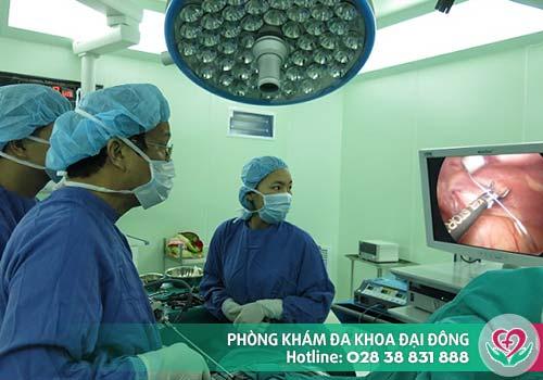Phẫu thuật nội soi điều trị đau bẹn do thoát vị bẹn, giãn tĩnh mạch thừng tinh...
